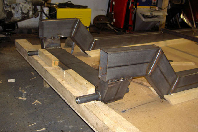 street rod chassis building