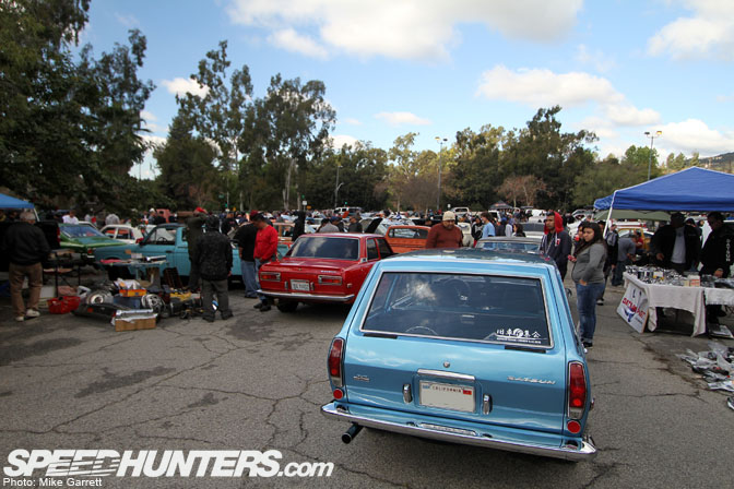 Old Car Swap Meets California