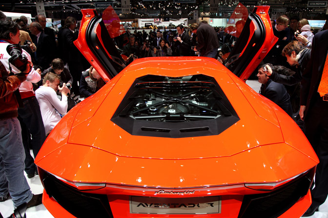 Events>> Geneva Motor Show 2011Pt.2