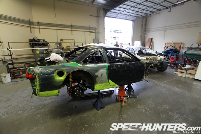 Driver Blog:matt Powers>>2011 Build Pt.1 You Say Goodbye, I SayHello