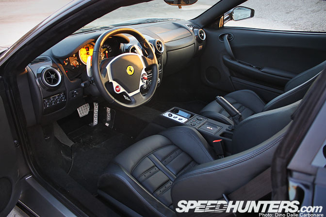 Ferrari F430 Black Interior