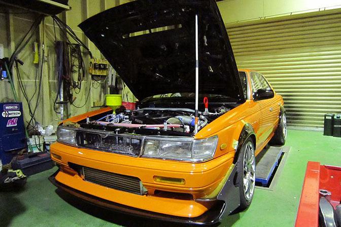 News>> Kumakubo's C33 LaurelUpdate