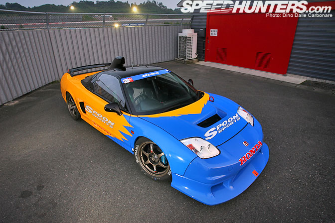 Car Feature>> Spoon Nsx-r Gt