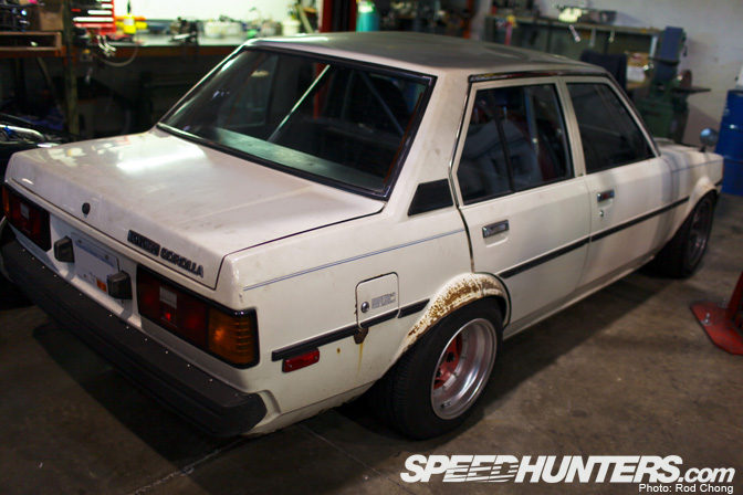 Car Spotlight>> Dusty's Sr20 Corolla