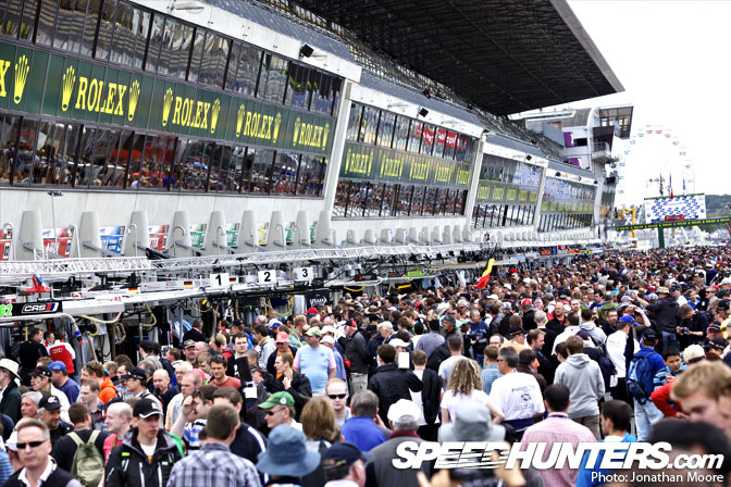 Behind The Scenes>> Le Mans: PitlanePreparation