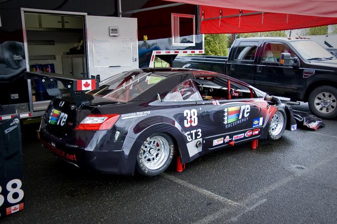 Car Featureu003eu003e Gt3 Carbon Bodied Honda Civic