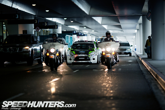 Behind The Scenes>> The Ken Block AirportTaxi