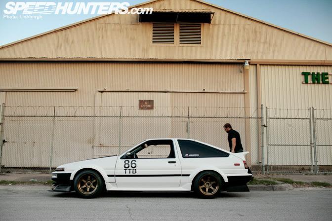 Car Feature>> Joshua Garcia's 1uz V8Corolla