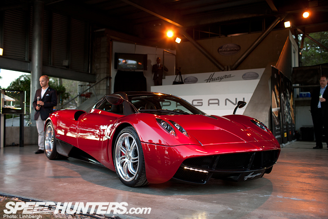 Behind The Scenes>> Pagani Huayra North American Release