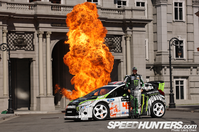 Behind The Scenes>> An Exclusive Look At Ken Block's Gymkhana Four, Part I