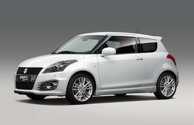 New Cars>>the 2012 Suzuki SwiftSport