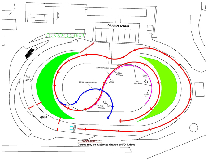 News>> Course Change For Fd Irwindale