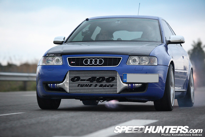 Car Spotlight>> 800whp Audi S3