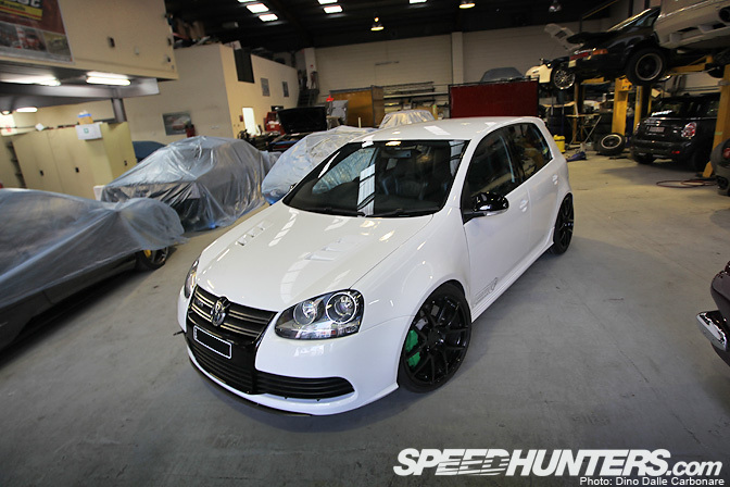 Car Feature>> Frankenstein's Monster: The 650hp Awd Golf