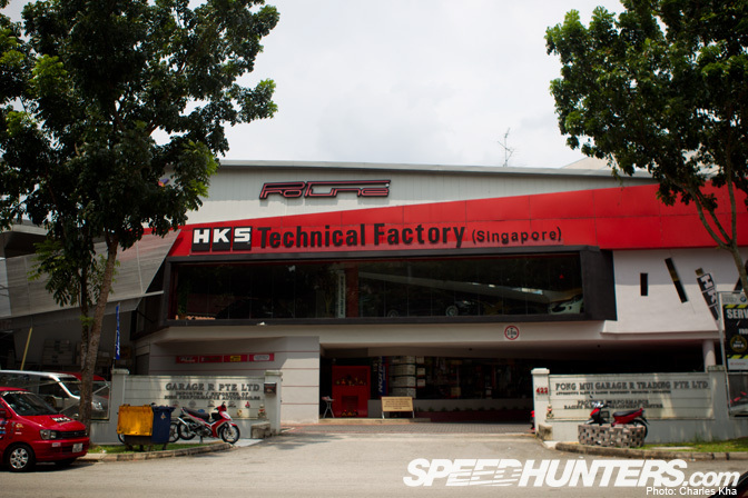 Car Builder>> Singapore's Hks Garage R – Part 1