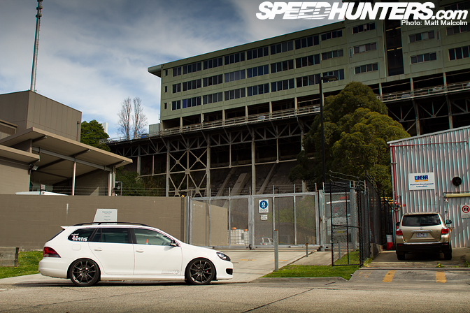 Car Feature>> Ap's Other Ride: The R32 Wagon