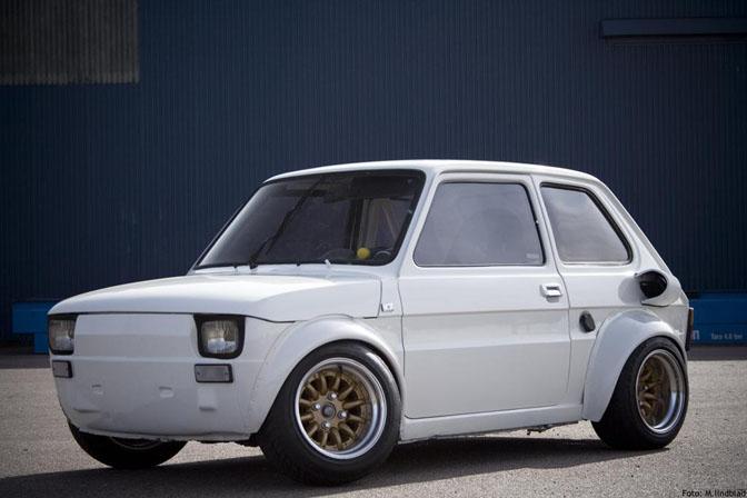 Car Spotlight Gt Gt R1 Powered Fiat 126 Speedhunters
