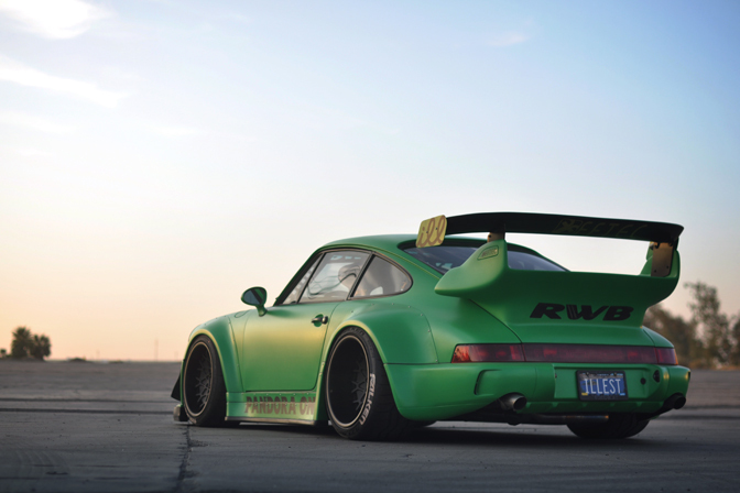 Car Feature>> The Illest Rwb Porsche 911