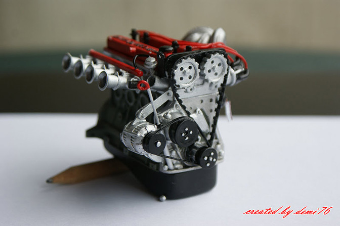 Collectables>> Toyota 4age In 1:10Scale