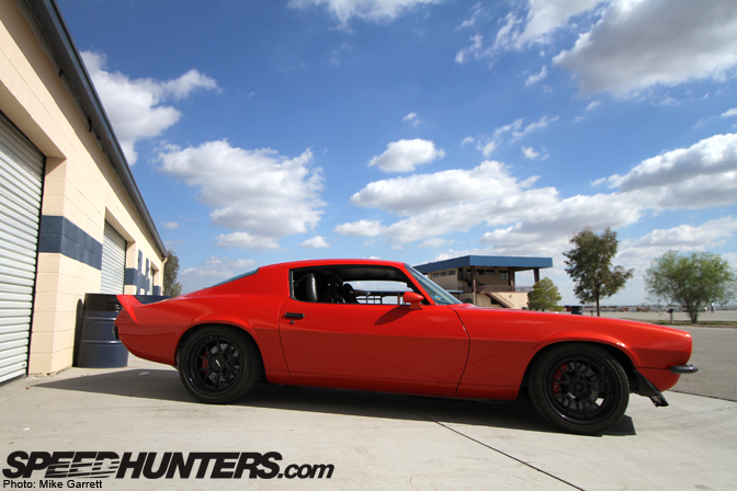 Car Feature>>mary's Fully FunctionalCamaro