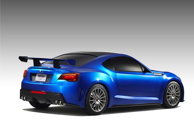 News>> The Subaru BrzConcept