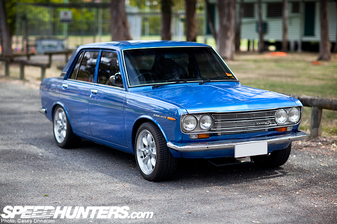 Car Feature>> Brock's 345hp Sr20det Datsun 1600