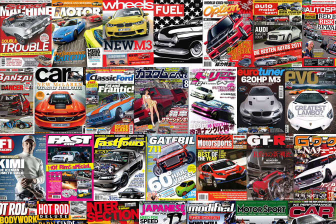 Speedhunters Awards 2011>> Magazine Of The Year