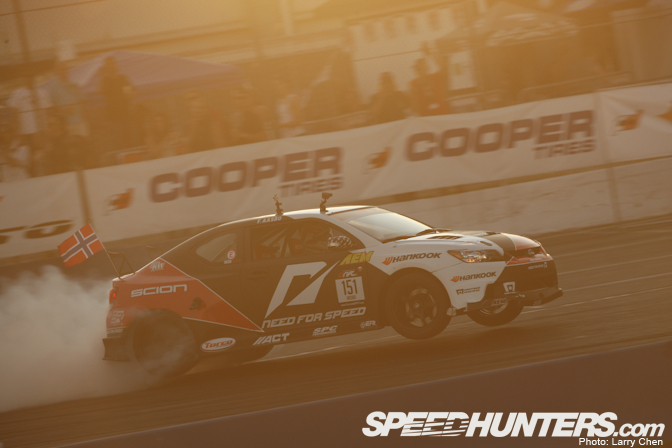 Driver Blog>> Fredric Aasbo:Contrasts