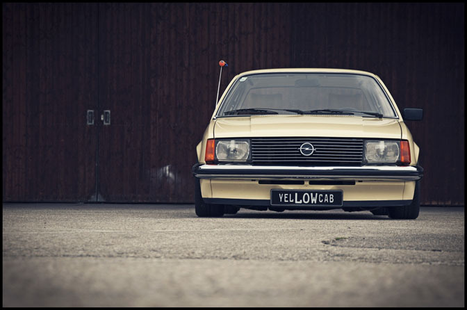 Car Spotlight>> Opel Rekord 'theYellowcab'