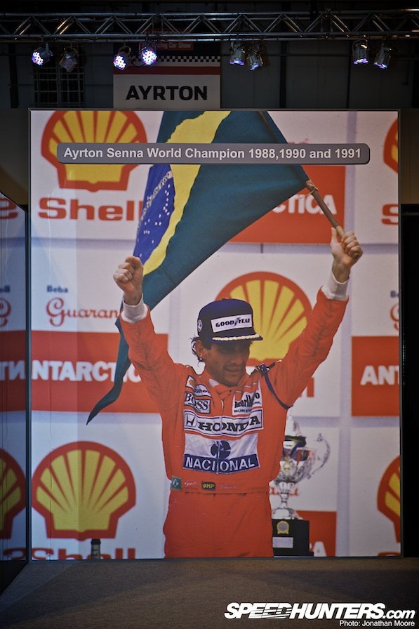 Gallery>> Senna Tribute At Autosport