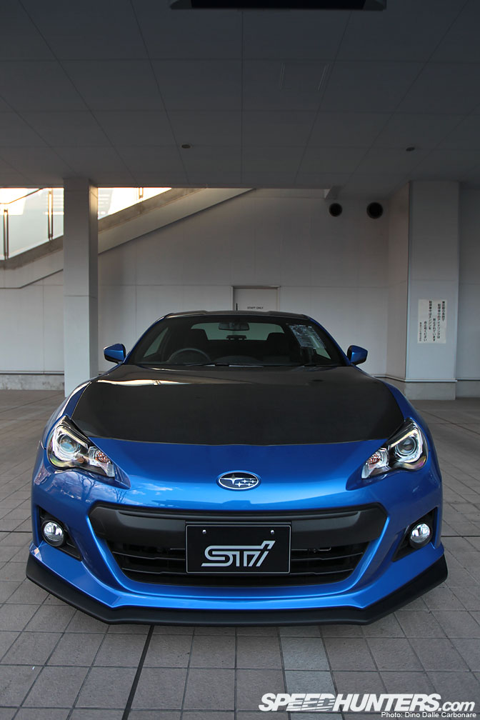 Car Feature>> Subaru Brz Sti Concept