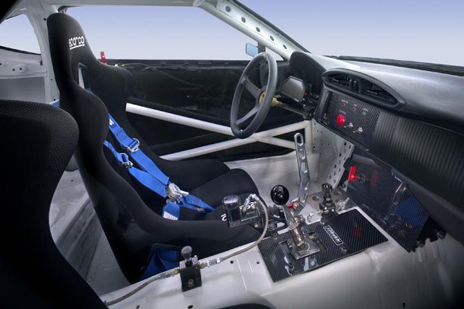 Scion FR-S drift version interior