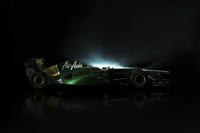 News>> Caterham's F1 Car Leaked