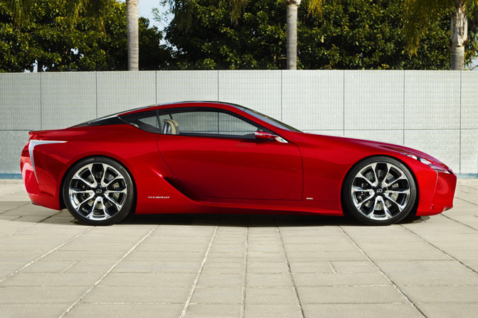 New Cars>>the Lexus Lf-lcConcept