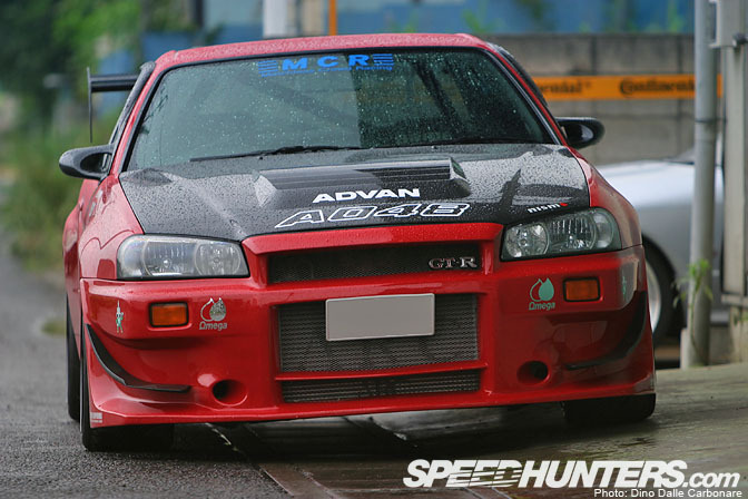 Car Feature>> Matchless Crowd Racing R34 Gt-r