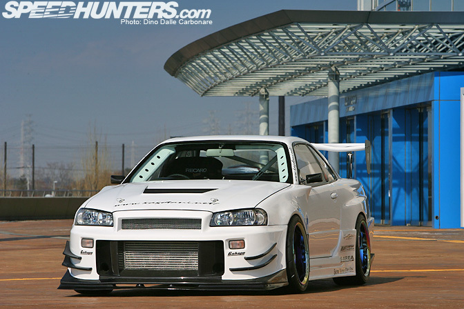 Car feature garage kagotani r34 gt r speedhunters for Garage nissan terville 57