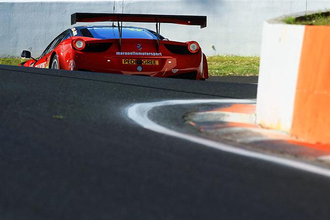 Random Snap>> Ferrari On TheMountain