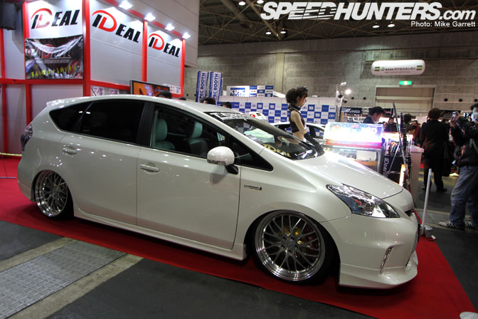 As With The VIP Cars Fixed Up Kei Wagons Like This Slammed Suzuki Lapin From J Line Are Always Fun To See