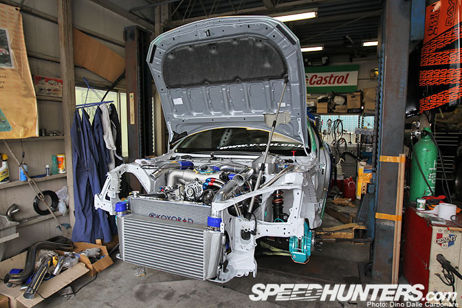 Build>> Hibino's D1 Toyota 86 Pt.2