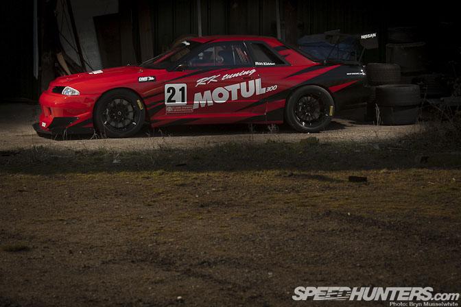 Car Feature>> Changing Man – Rk Tuning R32