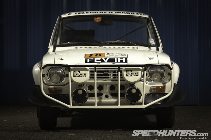 Car Feature>>   Hannu Takes On The WorldPt1