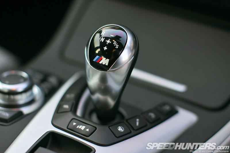 BMW M5 F10 Gearlever