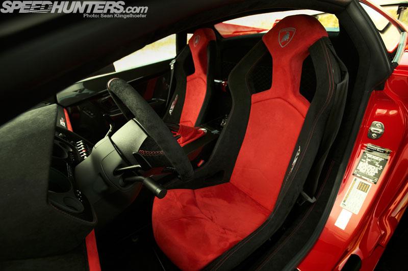 Lamborghini LP570 Supertrofeo Stradale interior