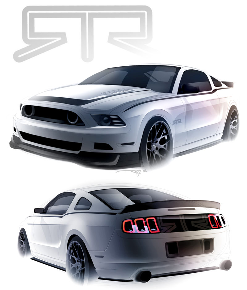 News>><br/>the 2013 Mustang&nbsp;Rtr