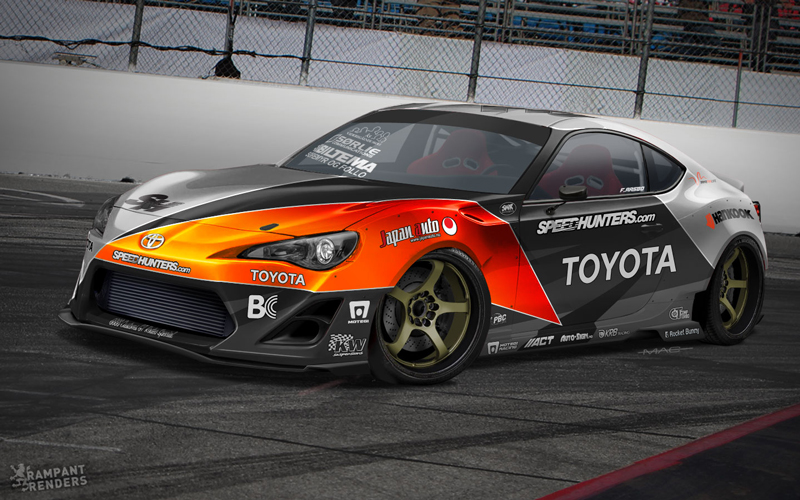 Announcing The 2jz Speedhunters Toyota 86-x