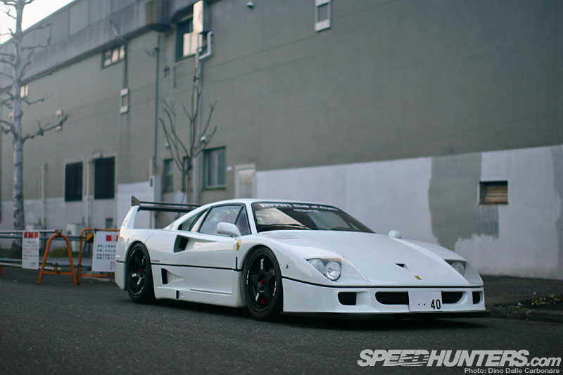The Liberty Walk F40 In High Res