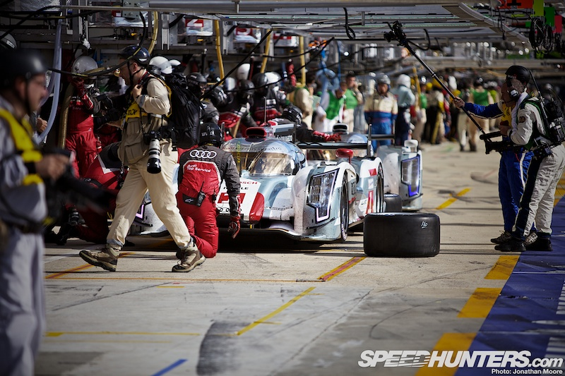 Audi Up, Toyota Down At Le Mans