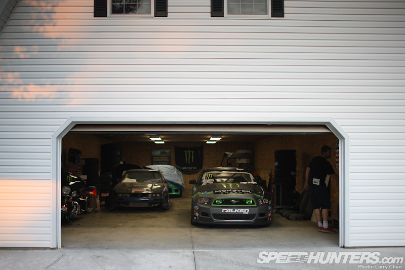 A Visit To Vaughn Gittin Jr's Drifting Compound
