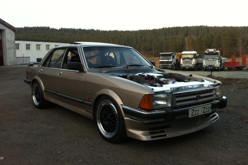 The Mad Koenigsegg-powered Ford Granada