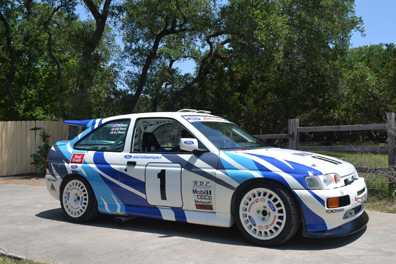 escort wrc body kit